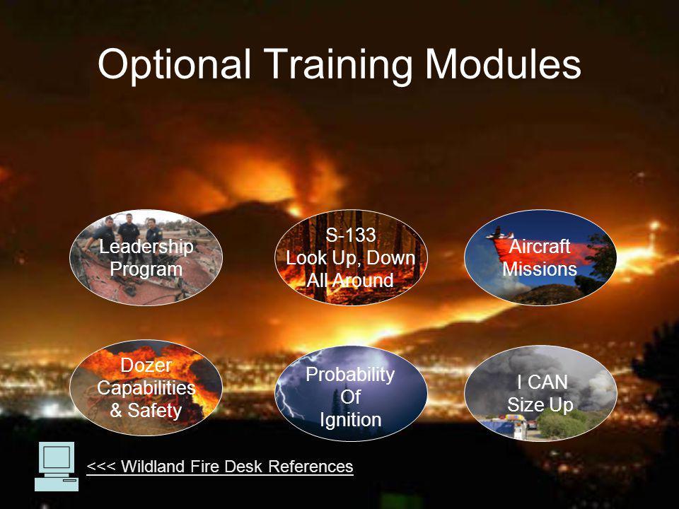 Optional Training Modules