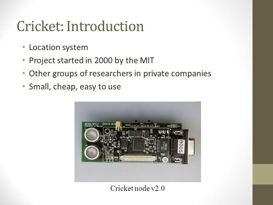 Cricket: Introduction