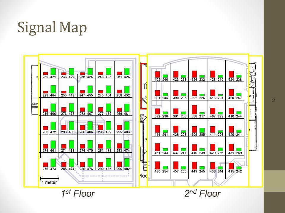 Signal Map 1st Floor 2nd Floor