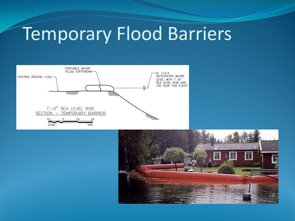 Temporary Flood Barriers