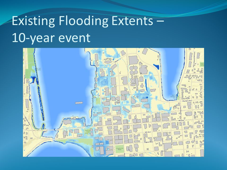 Existing Flooding Extents – 10-year event