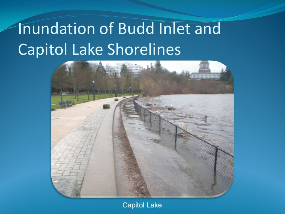 Inundation of Budd Inlet and Capitol Lake Shorelines