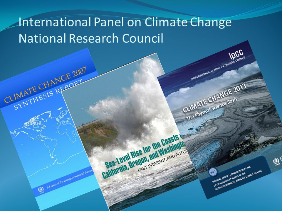 International Panel on Climate Change National Research Council