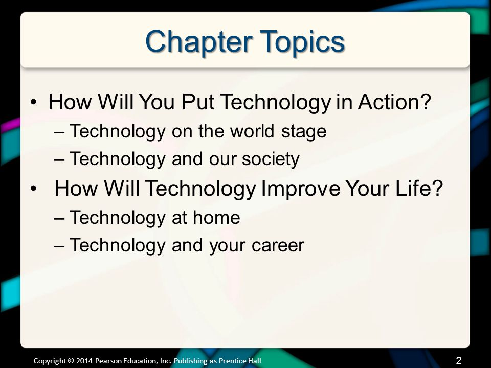 How Will You Put Technology in Action