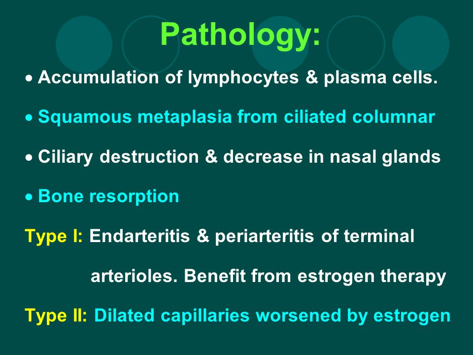 Pathology:  Accumulation of lymphocytes & plasma cells.