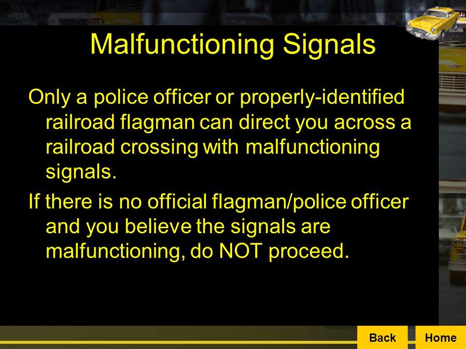 Malfunctioning Signals