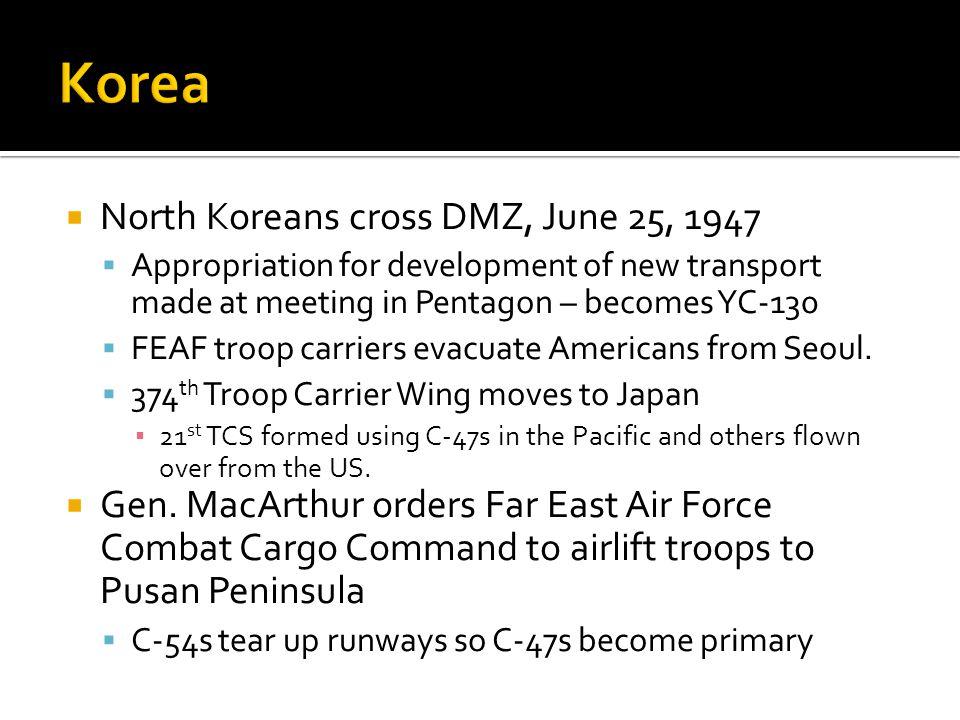 Korea North Koreans cross DMZ, June 25, 1947