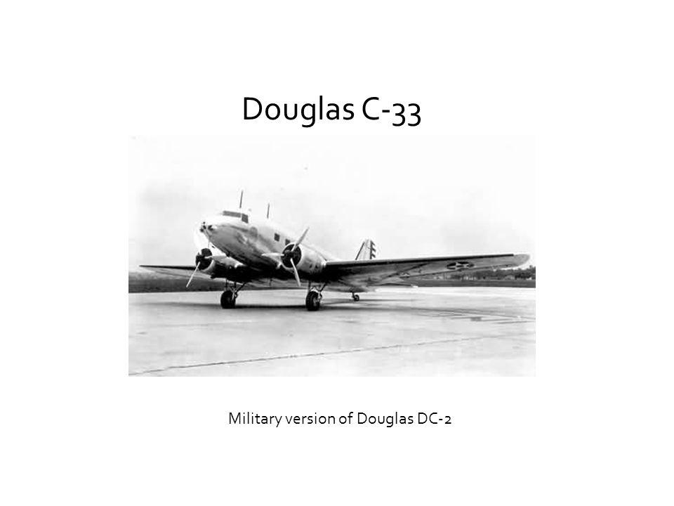 Military version of Douglas DC-2