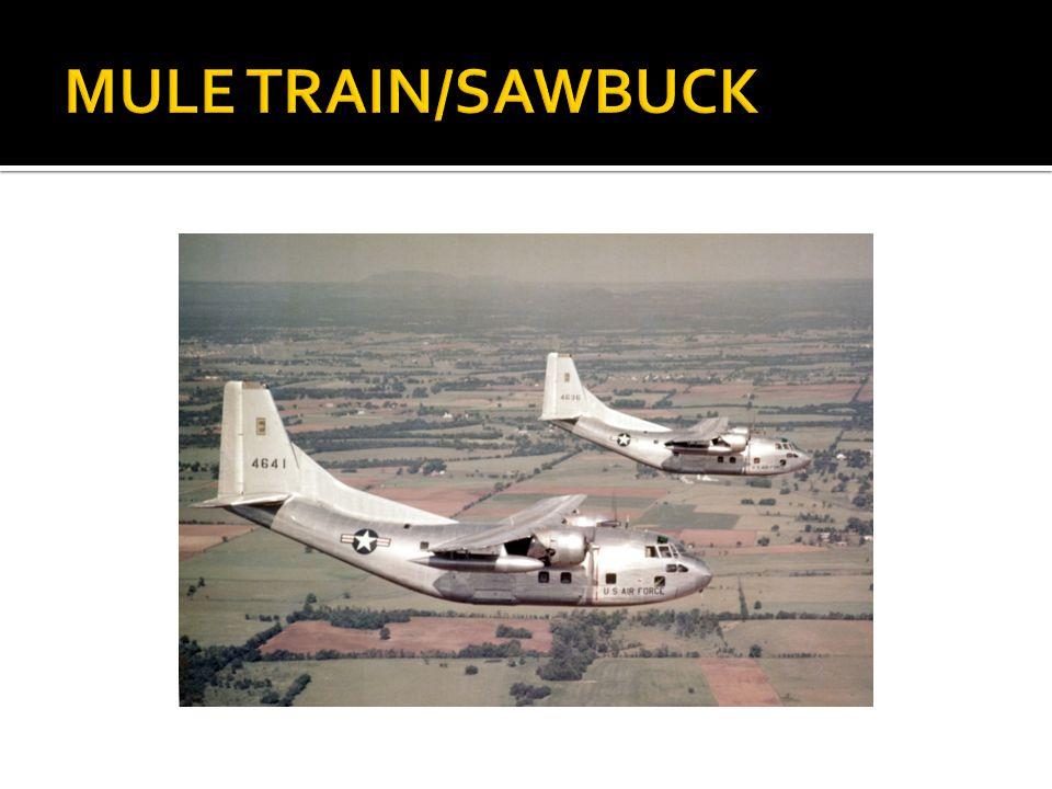 MULE TRAIN/SAWBUCK
