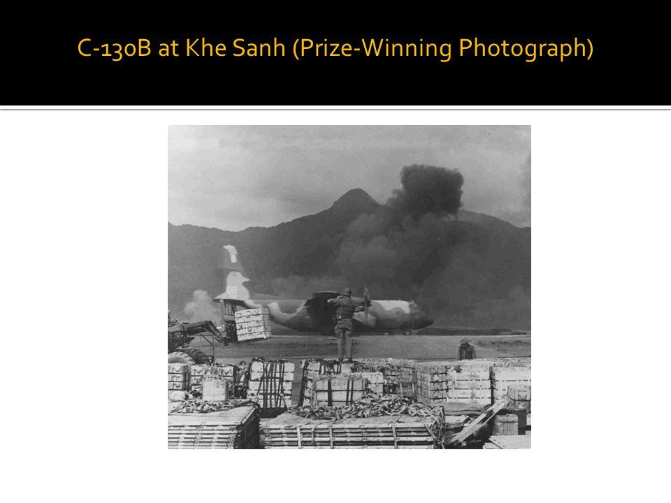 C-130B at Khe Sanh (Prize-Winning Photograph)