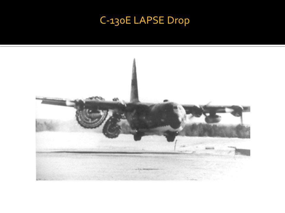 C-130E LAPSE Drop