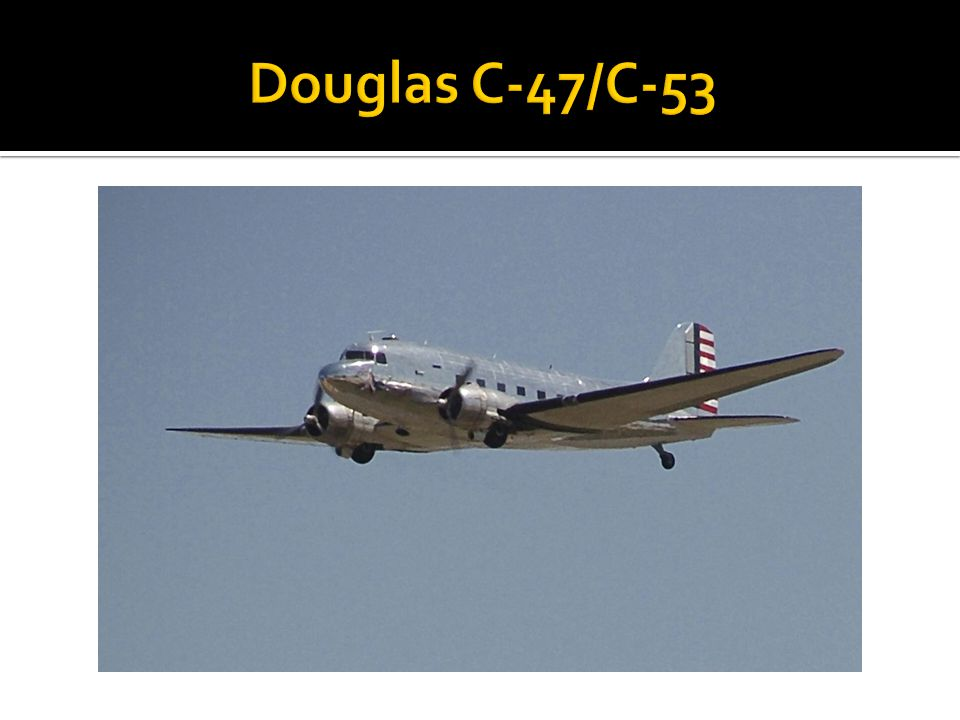 Douglas C-47/C-53
