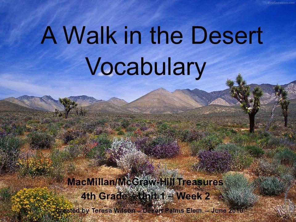 MacMillan/McGraw-Hill Treasures 4th Grade – Unit 1 – Week 2