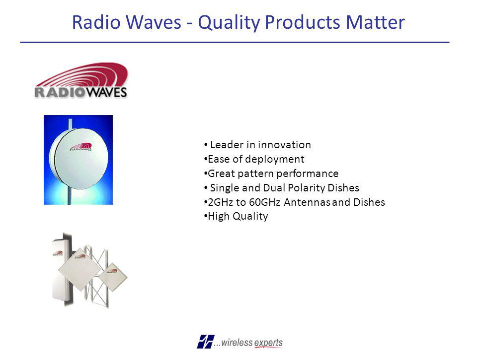 Radio Waves - Quality Products Matter