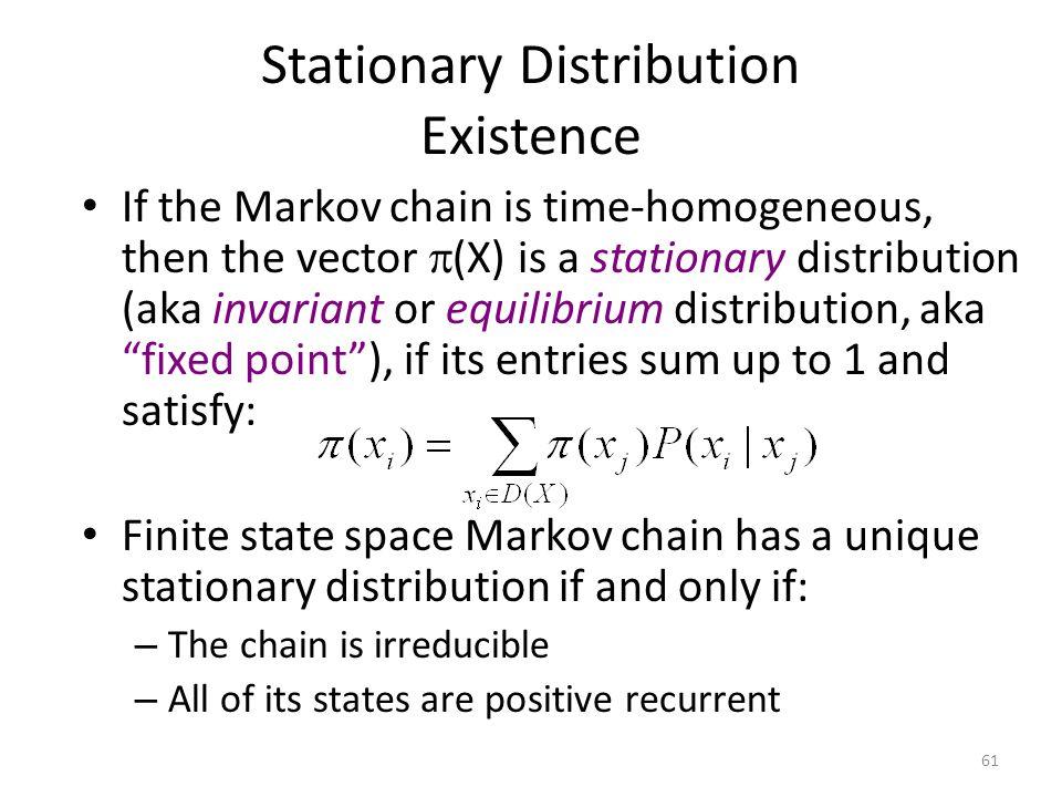 Stationary Distribution Existence