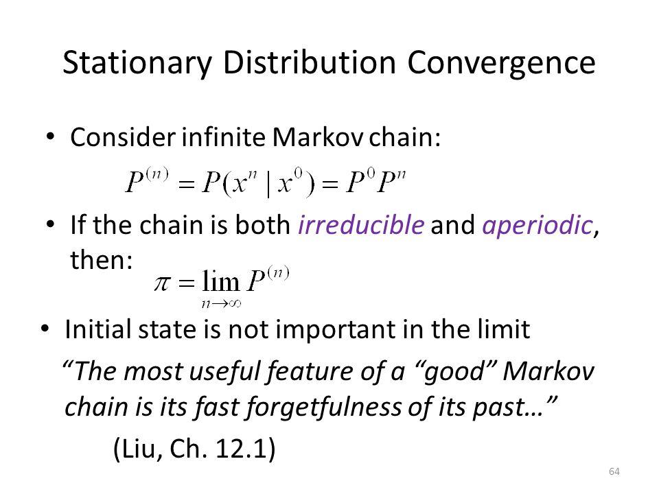 Stationary Distribution Convergence