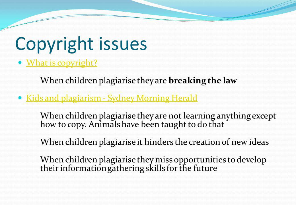 Copyright issues What is copyright