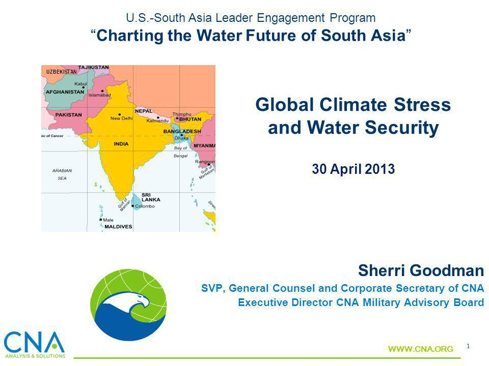 Global Climate Stress and Water Security