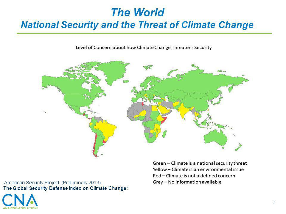 National Security and the Threat of Climate Change