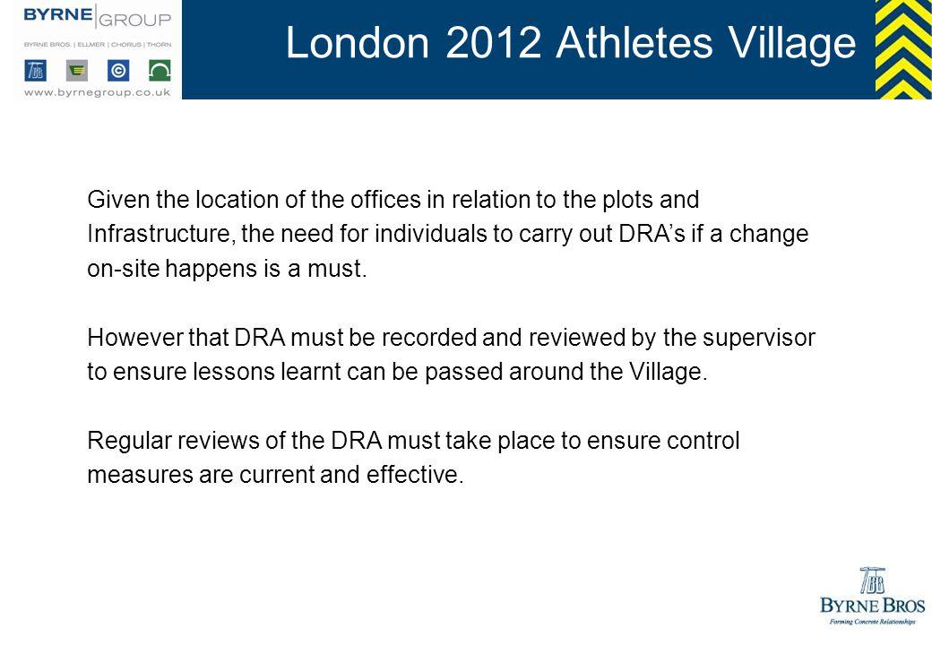 London 2012 Athletes Village