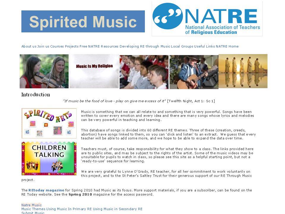 Spirited Music