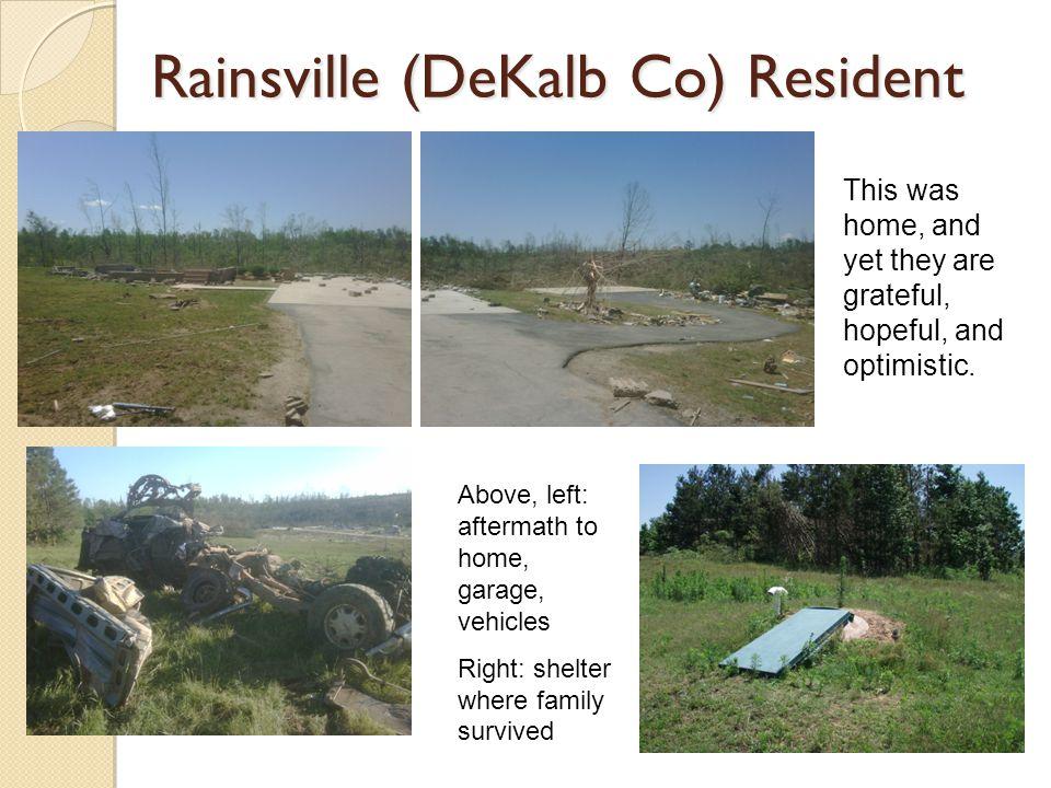 Rainsville (DeKalb Co) Resident