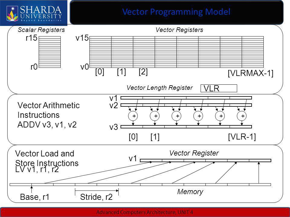 Vector Programming Model