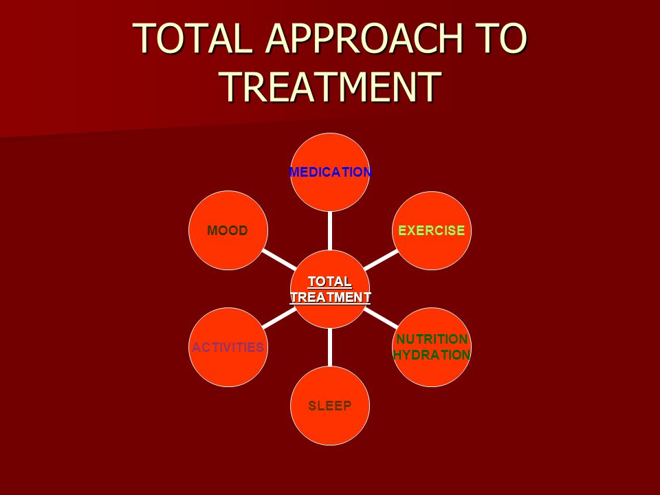 TOTAL APPROACH TO TREATMENT