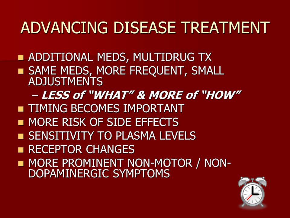 ADVANCING DISEASE TREATMENT