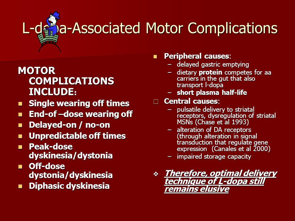 L-dopa-Associated Motor Complications