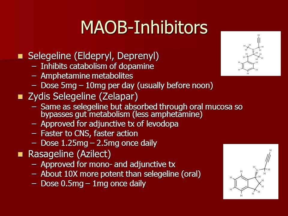 MAOB-Inhibitors Selegeline (Eldepryl, Deprenyl)