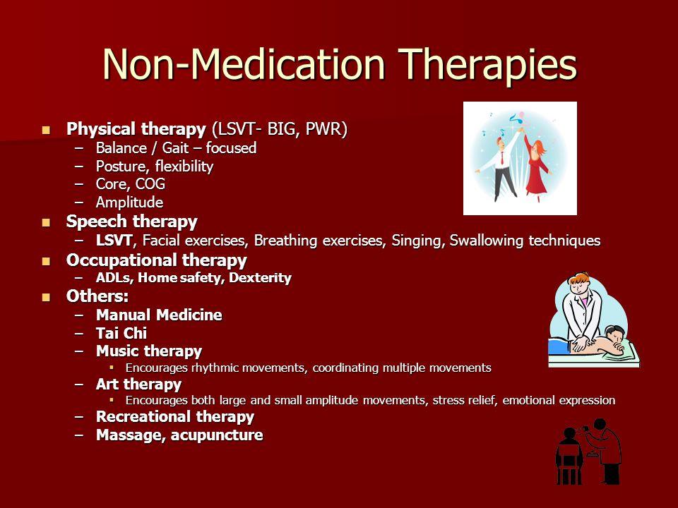 Non-Medication Therapies