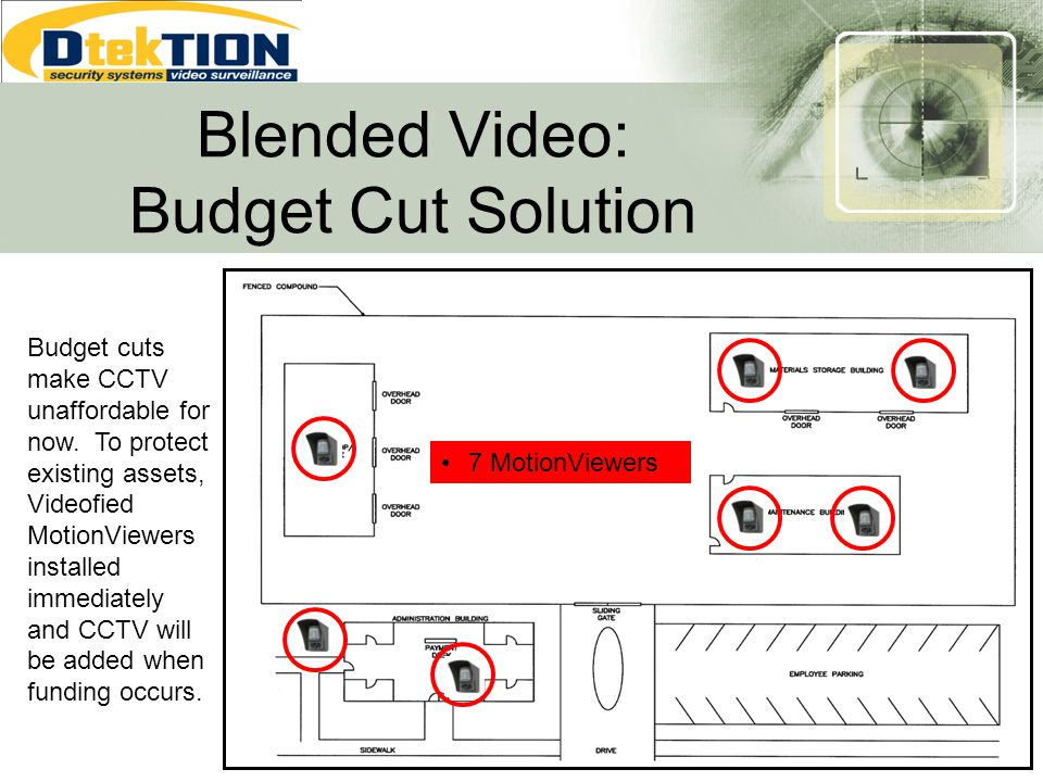 Blended Video: Budget Cut Solution