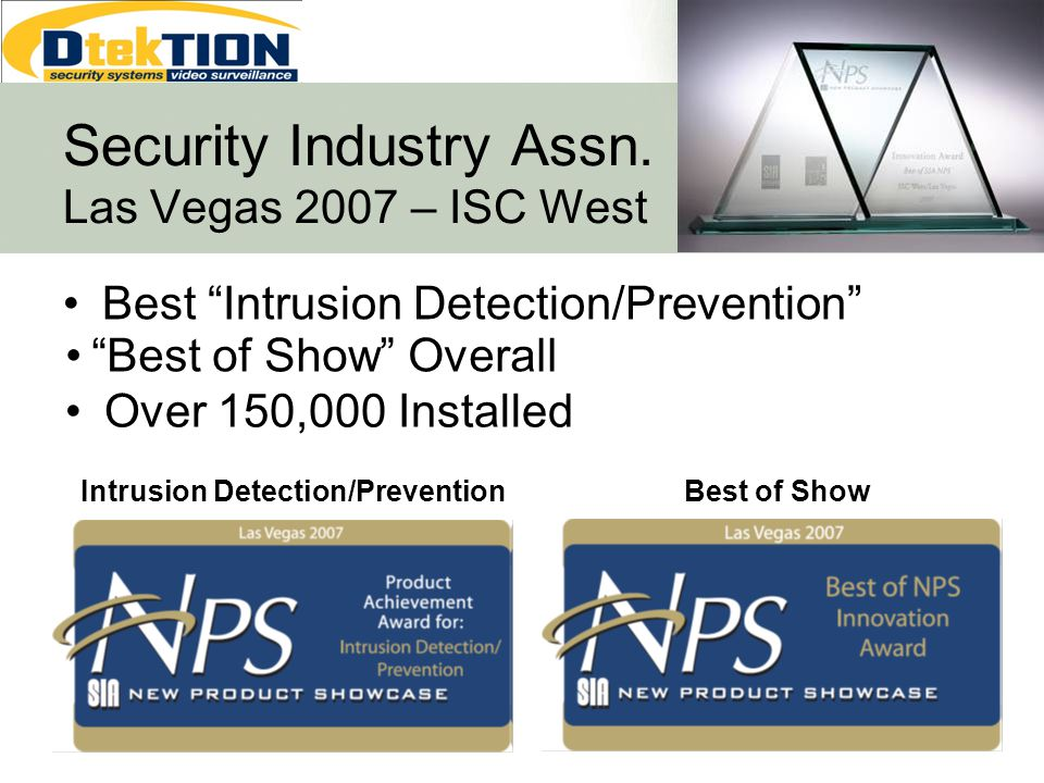 Security Industry Assn. Las Vegas 2007 – ISC West