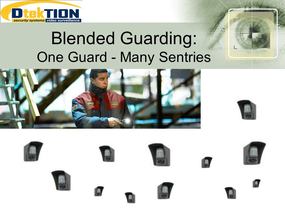 Blended Guarding: One Guard - Many Sentries