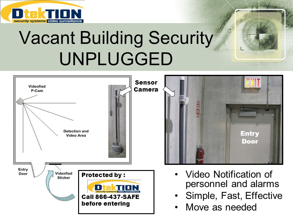 Vacant Building Security UNPLUGGED