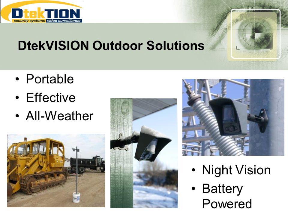 DtekVISION Outdoor Solutions