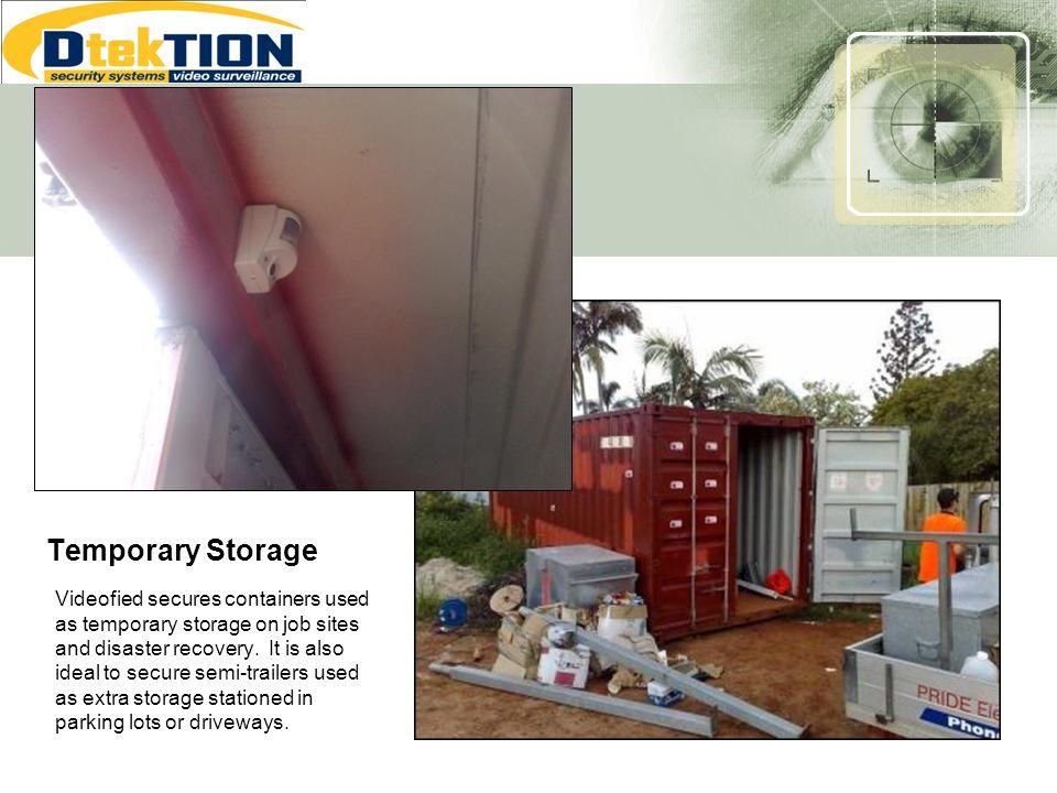Temporary Storage