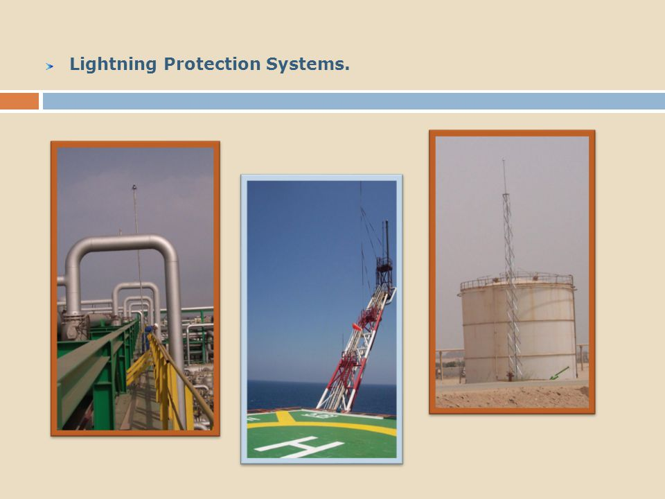 Lightning Protection Systems.