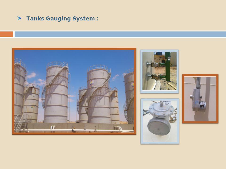 Tanks Gauging System :