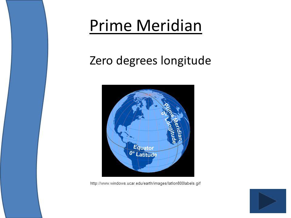 Zero degrees longitude
