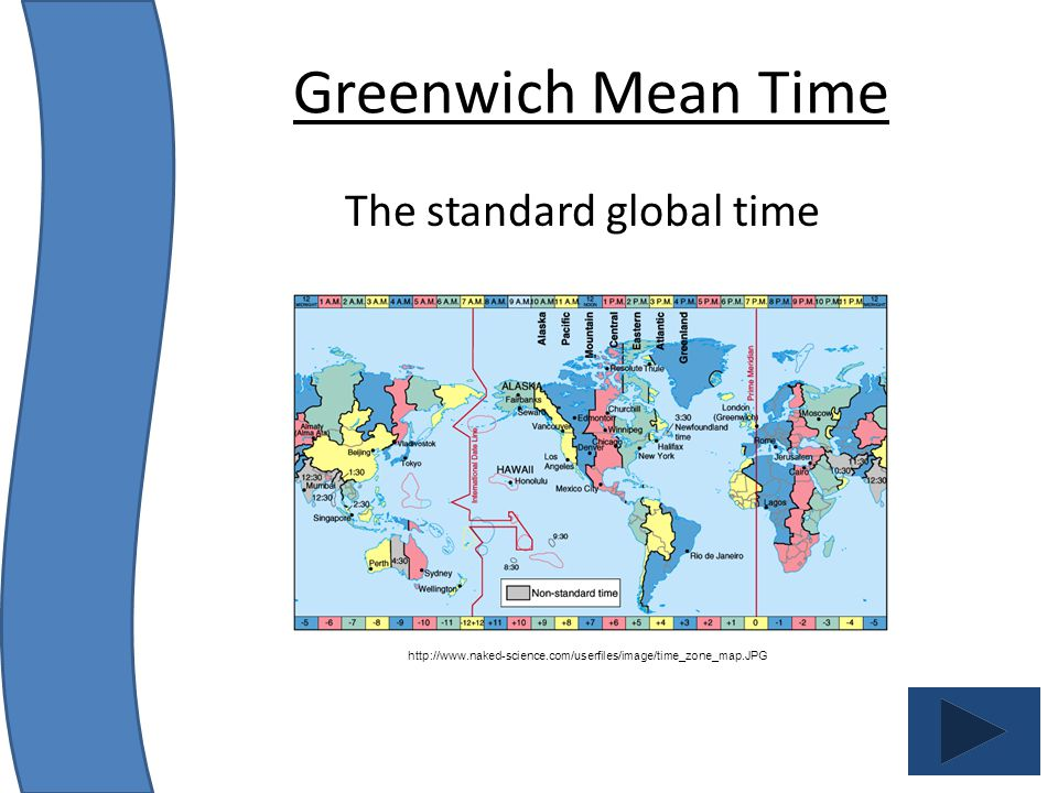 The standard global time