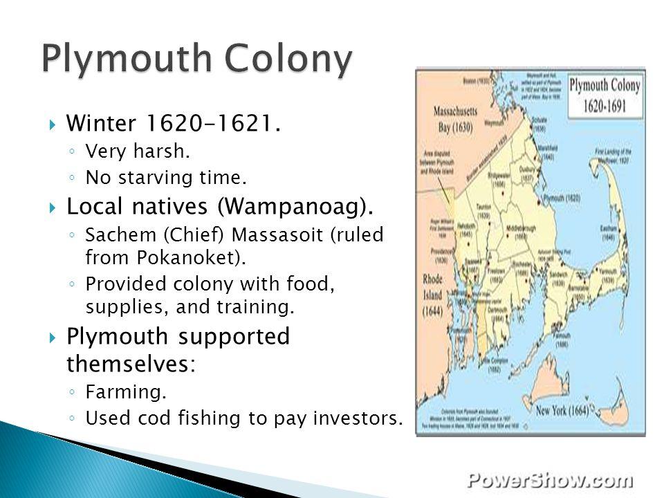 Plymouth Colony Winter 1620-1621. Local natives (Wampanoag).