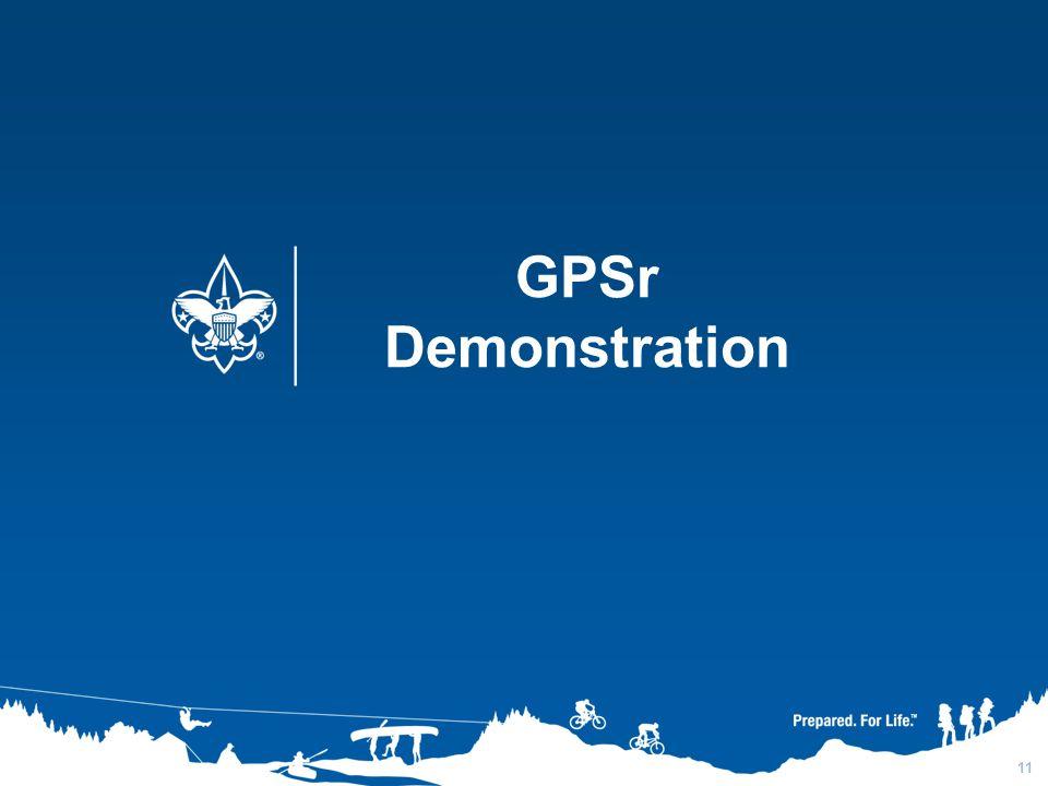 3/31/2017 GPSr Demonstration