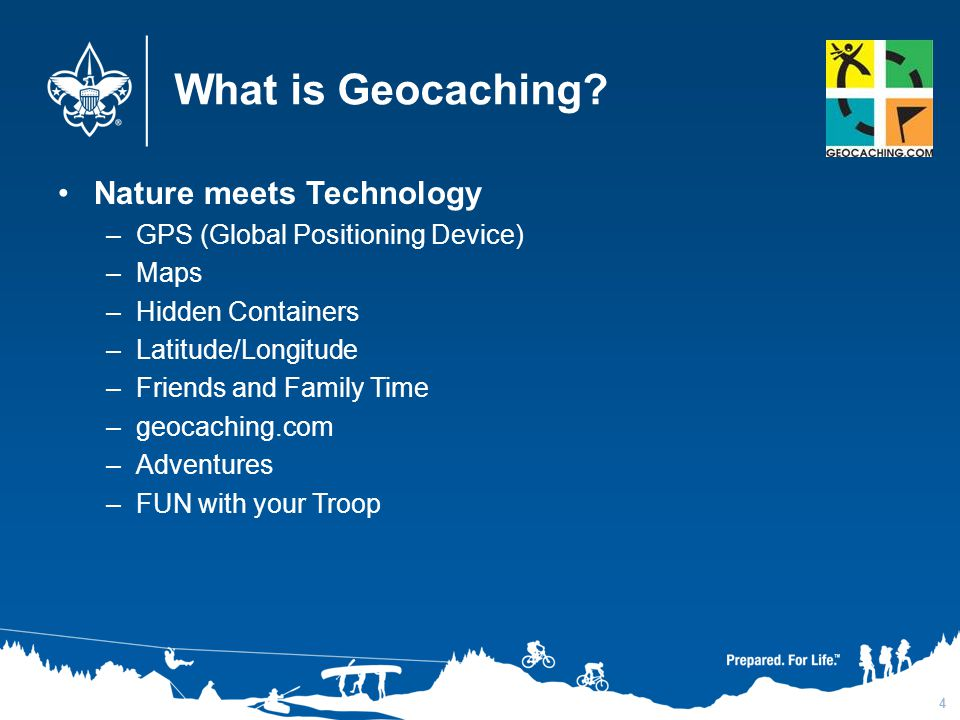 What is Geocaching Nature meets Technology