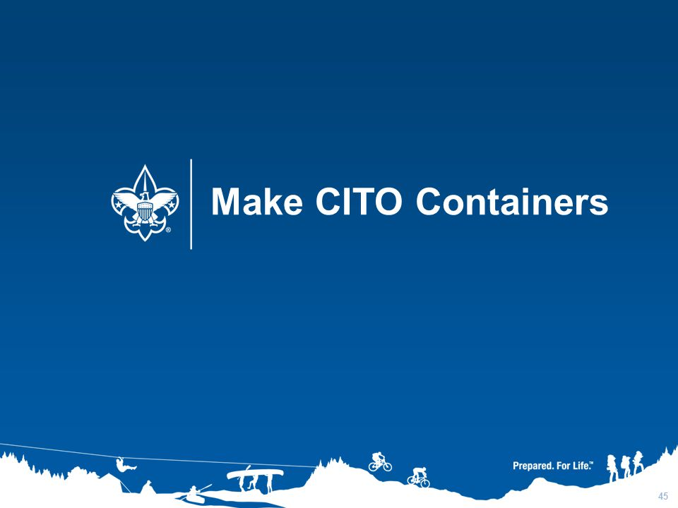 3/31/2017 Make CITO Containers