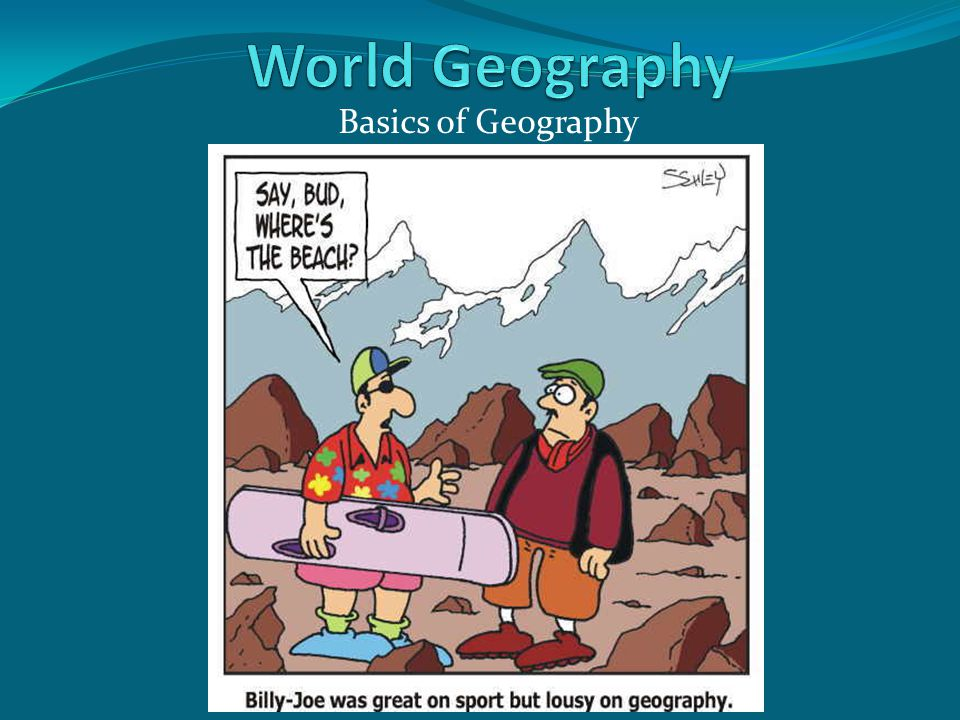 World Geography Basics of Geography