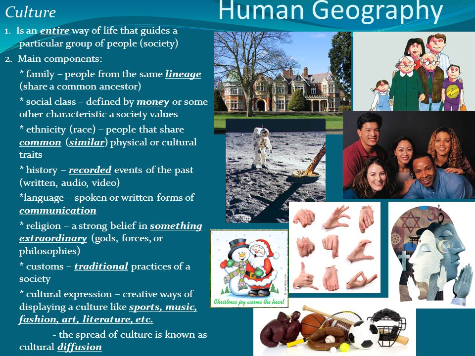 Human Geography Culture