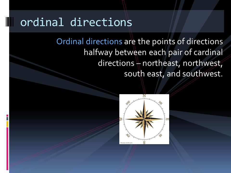 ordinal directions