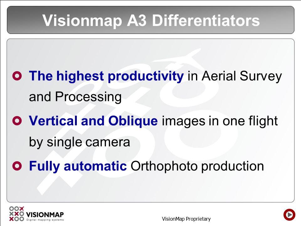 Visionmap A3 Differentiators